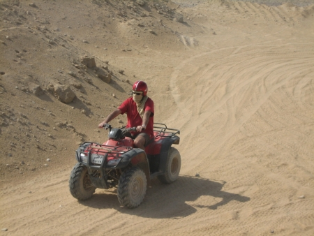 Sunset Quad Bike Safari in Luxor