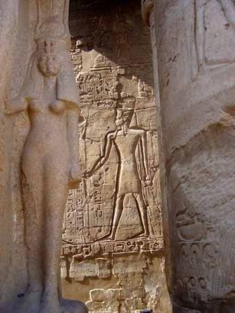 Ramsès II et Néfertari