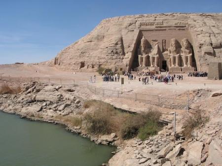 Abu Simbel Temples in Upper Egypt