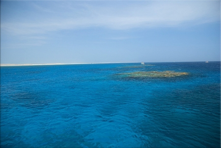 The Beautiful Terquiose Water at Ras Mohamed National Park