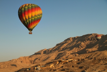Balloon Ride over Luxor, Egypt