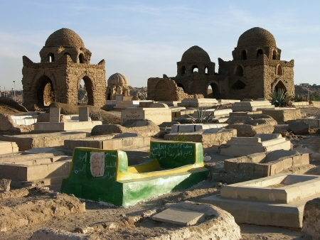 A Cemetery Dates Back to the Fatimid Period