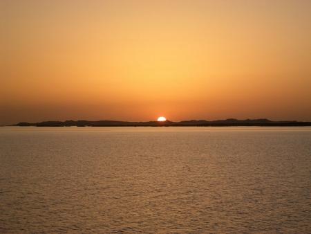 Sunset at Lake Nasser