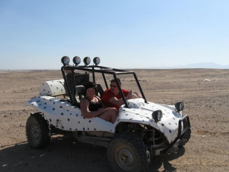 Car Buggy Safari Hurghada