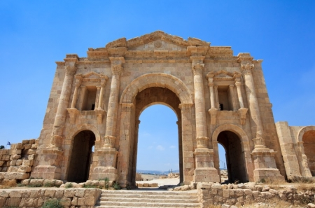 Jerash Hadrian Gate