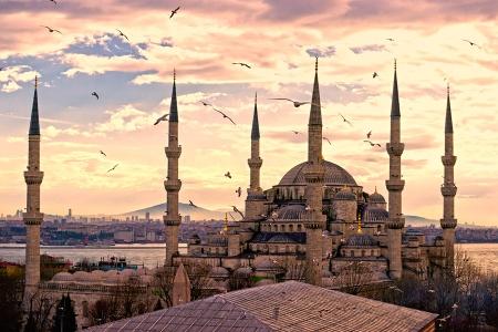 La Mezquita Azul, Turquía