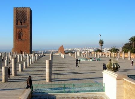 A Torre Hassan - em Rabat