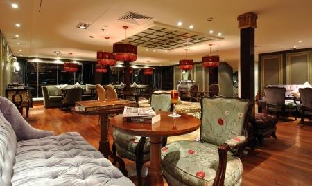 SS Misr Nile Steamer Cruise Lounge