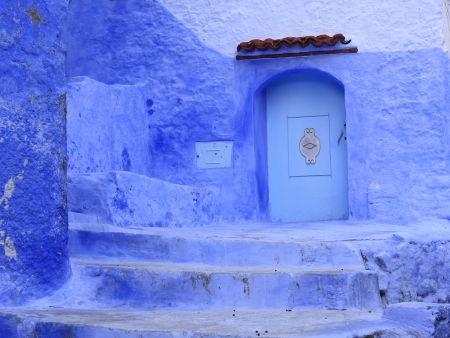 Blue Doorway Chefchaouen