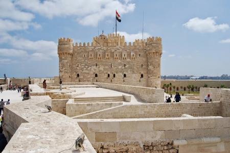 Qaitbay Citadel At Alex