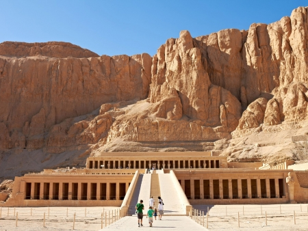 Hatshepsut's Temple at Deir-el-Bahri