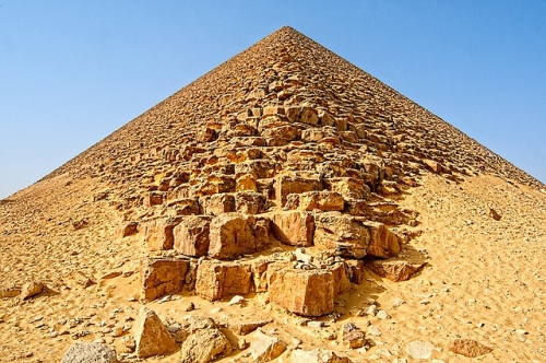The Red Pyramid at Dahshur.