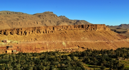 the Dades Valley