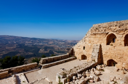 View of Ajloun Castle