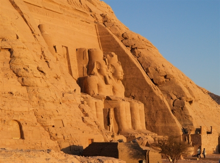 Abu Simbel Temple on Lake Nasser