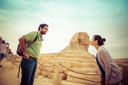 As Pirâmides de Gizé