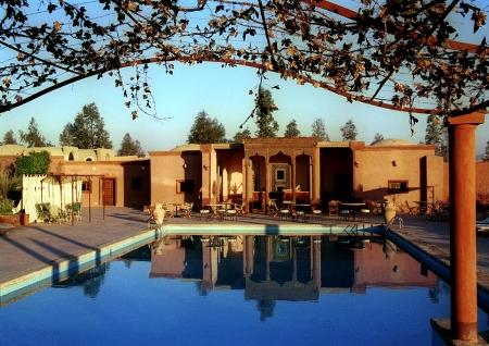 Swimming Pool of Hotel Al Moudira Luxor