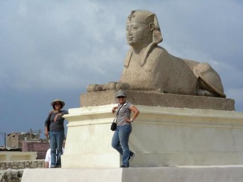 The Sphinx in Alexandria