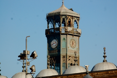 Clock Tower at Mohammad Ali Mosque