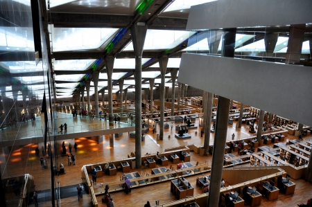 Alexandria Library from Inside