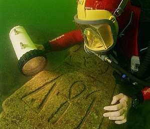 Wreck Diving Underwater of Alexandria - Egypt