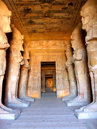 Inside The Temple of Rameses II