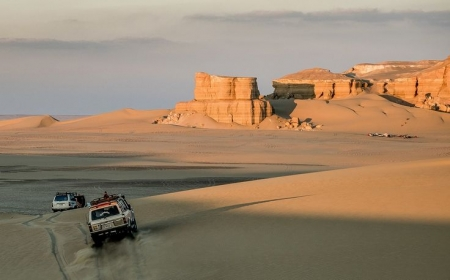 Desert landscapes, Fayoum