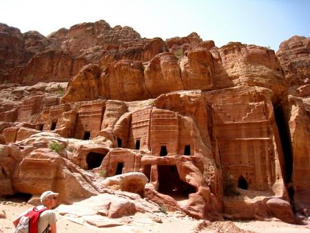 ロイヤル墓、ぺトラ、ヨルダン