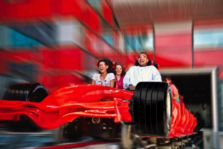 Ferrari World Yas Island Tour