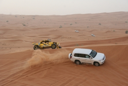 Jeep safari in Dubai