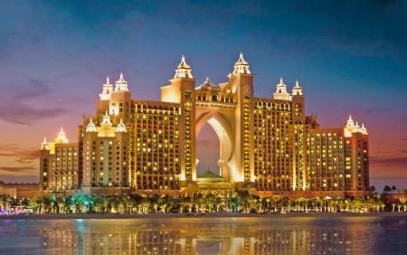 El Hotel Atlantis.