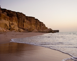 Ras Al Hadd Beach of Oman