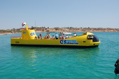 Semi submarino en Sharm