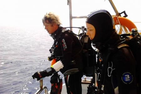 Diving Underwater of Alexandria - Egypt