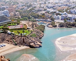 AlQurm Beach of Oman