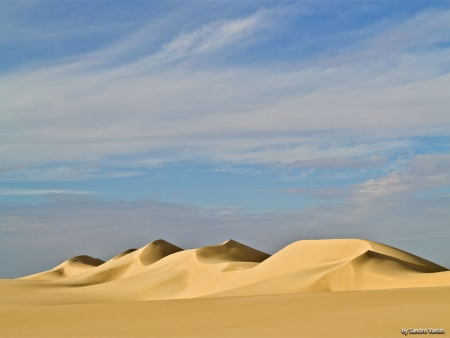 Soft Sand in The White Desert