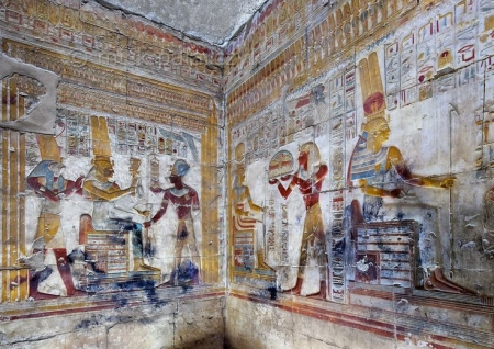 Pharaonic Inscriptions at Seti I Temple