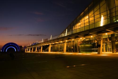 Bibliotheca Alexandrina at Night