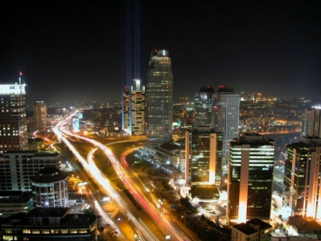Istanbul City at Night