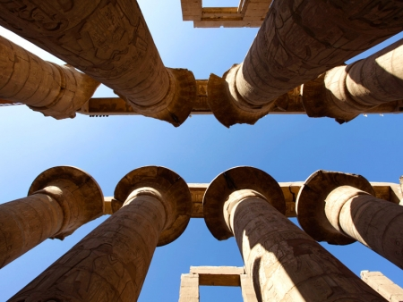 Columns Hall in Karnak Temple