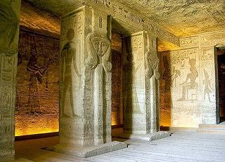 Inside The Temple of Queen Nefertari