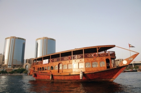 Dhow Cruise. Dubai Creek