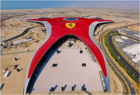 Ferrari World, Isola di Yas