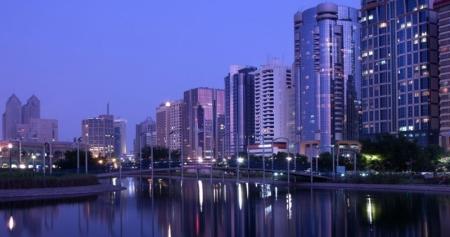 Rascacielos en Abu Dhabi