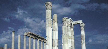 Pergamon Acropolis Archeological Site of Turkey