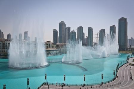 A fonte de Dubai