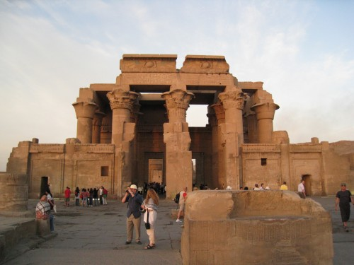 Kom Ombo Temple in Upper Egypt