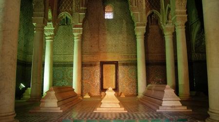 Saadien Tombs, Fez