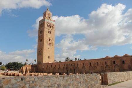 El minarete de la Koutoubia.