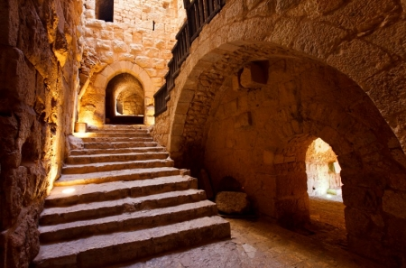 Ajloun Castle Interior